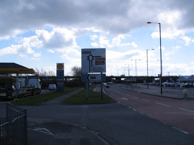Eastern Road / A27 junction