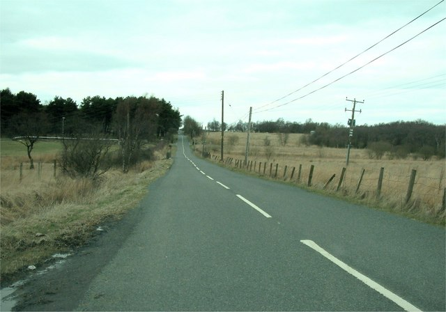 Road heading north from Forrestfield