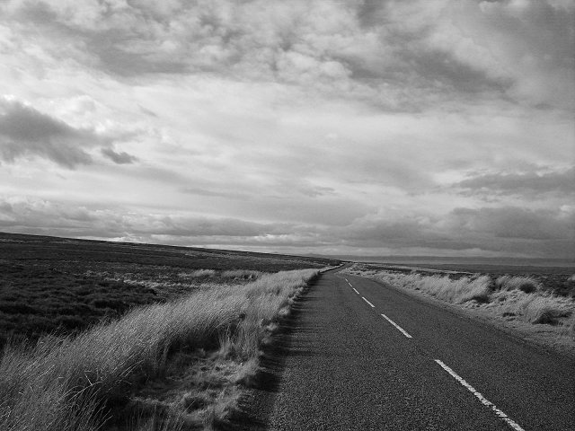 Open road, B6355
