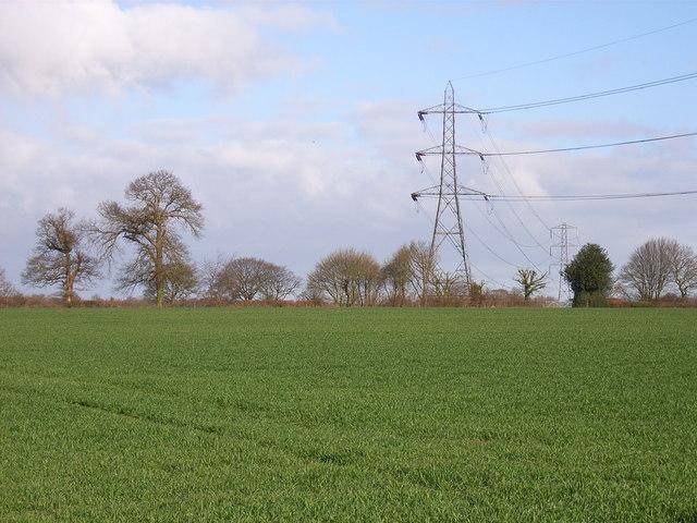 Farmland at Mop End