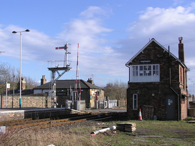 Heighington Station.