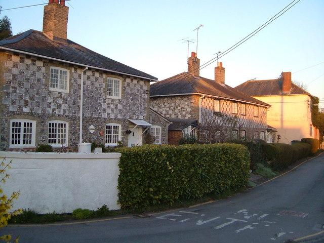 Flint cottages, Flower Lane, Amesbury