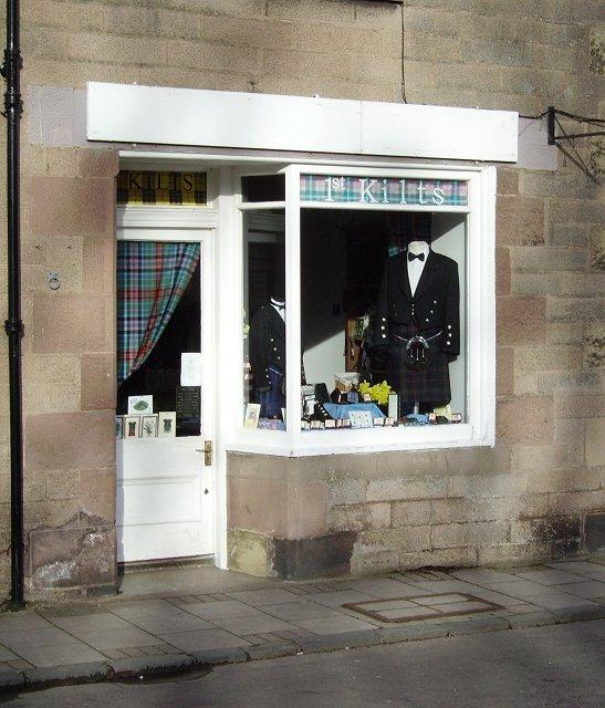 Kilt shop, Gifford