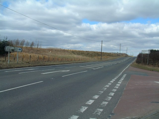 T-junction on the Shotts Road