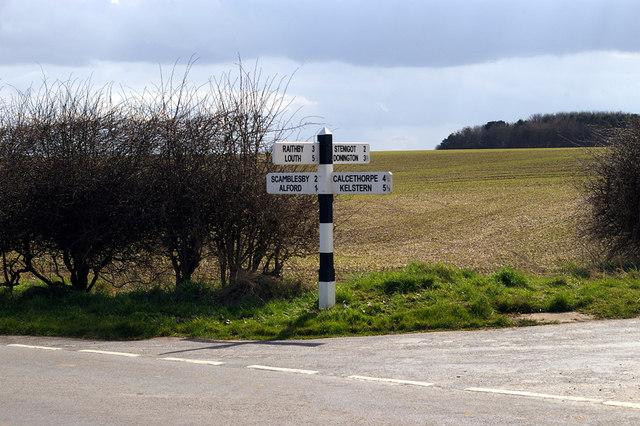 Wolds Signpost