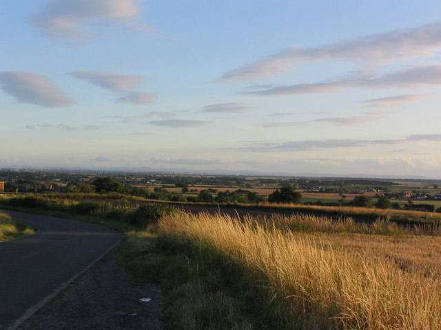 Looking towards Liverpool from Clieves Hill