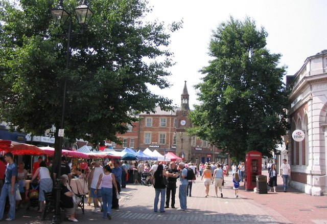 Ormskirk's First Continental Market