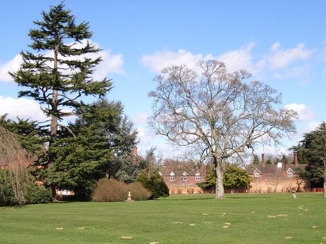 The grounds of Penn House