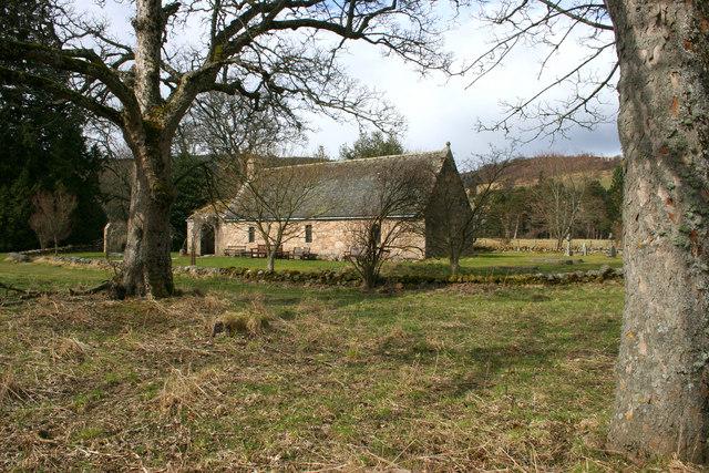 Chapel of St Lesmo in Glen Tanar