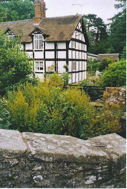 Half-timbered Cottage, Eardisland.