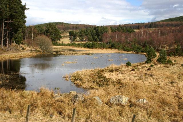 Fairy Loch in Glen Tanar