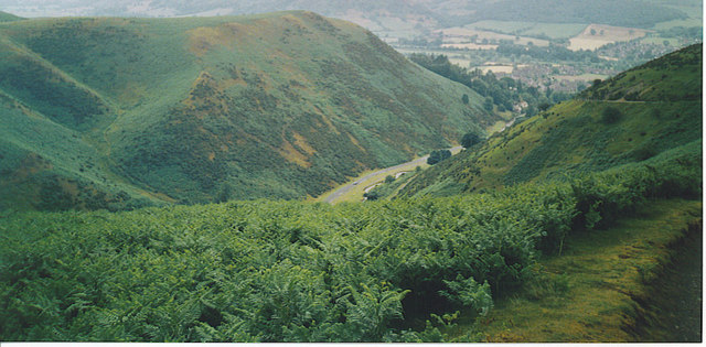 Cardingmill Valley , Looking North-east.