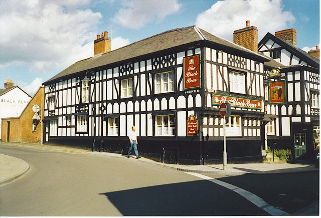The Black Bear, Whitchurch.