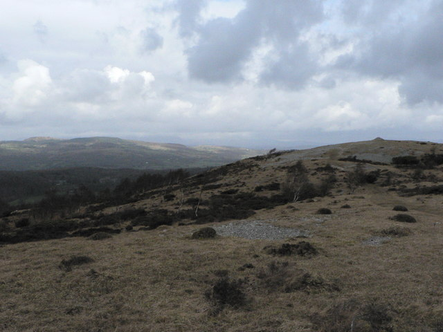 From the top of Whitbarrow looking north east