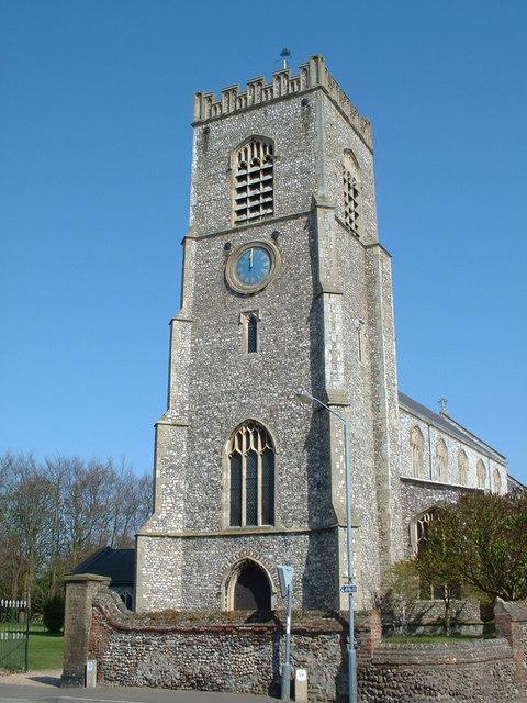 St Nicholas church, Wells next the Sea.