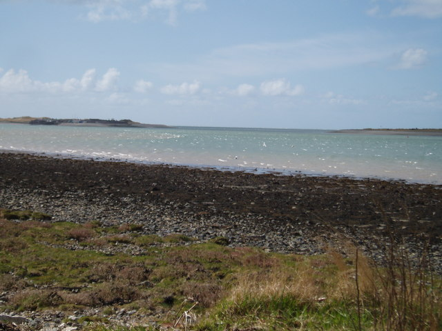 The South Western end of the Menai Straits
