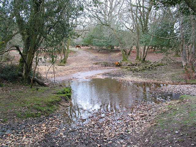 Ford over Highland Water, New Forest