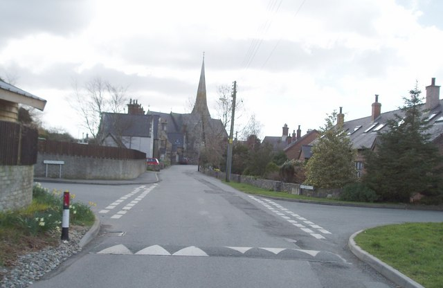 The Village of Llandwrog
