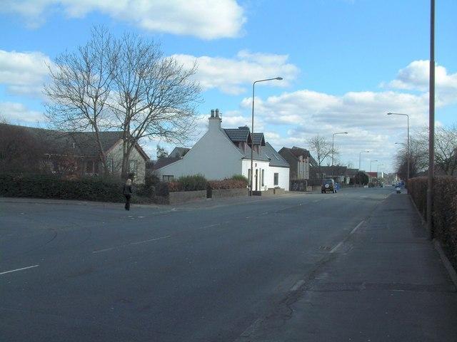 Entering Whitburn