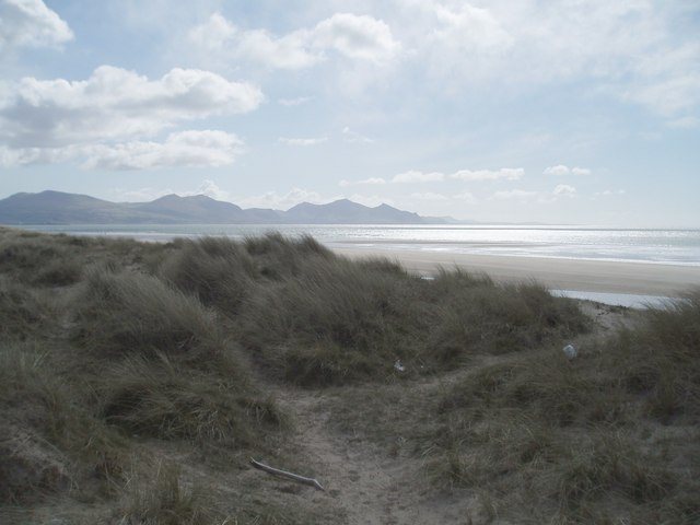 Dunes at Morfa  Dinlle