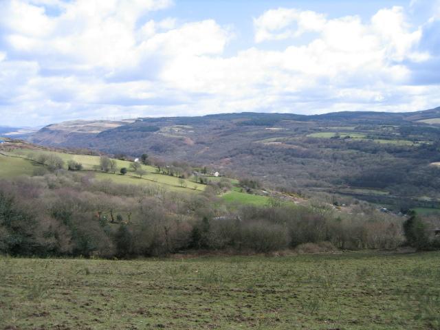 View Across Tawe Valley