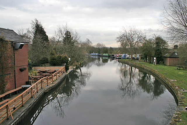 Grand Union Canal at Barrow on Soar