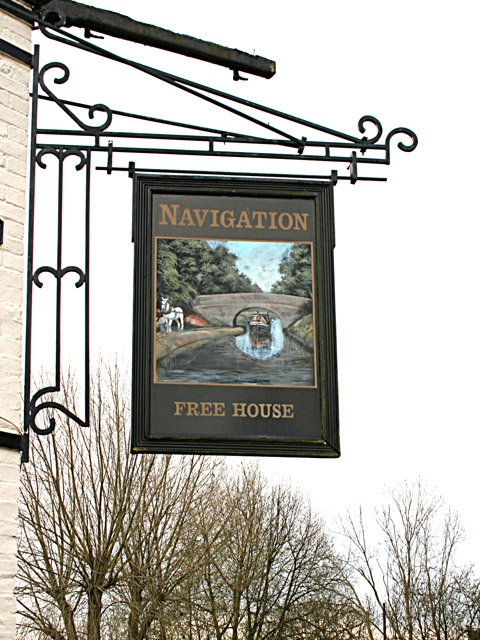 The Navigation Inn Sign