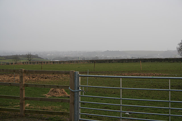 Pasture at Paudy Farm, near Barrow on Soar