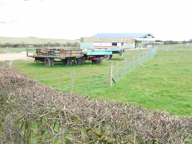Barn near Haswell Plough