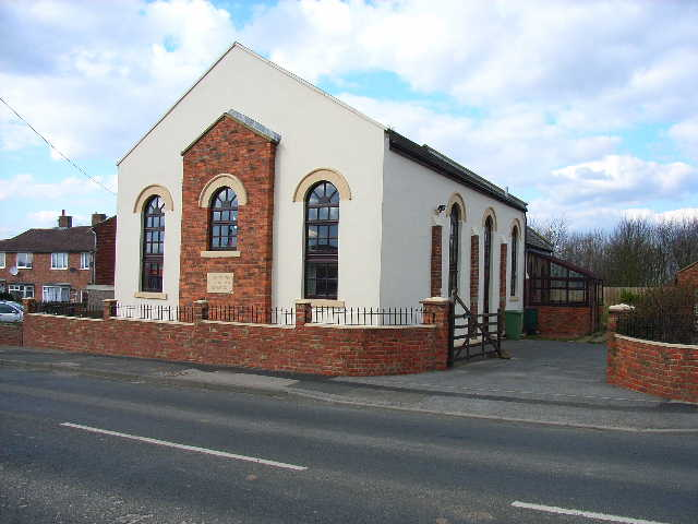 Converted chapel at Haswell Plough