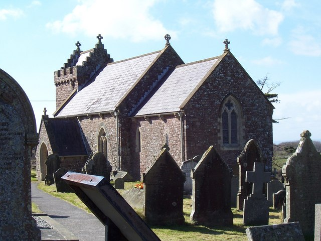 Llanmadoc church