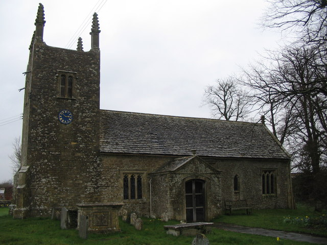 The church at Foxley