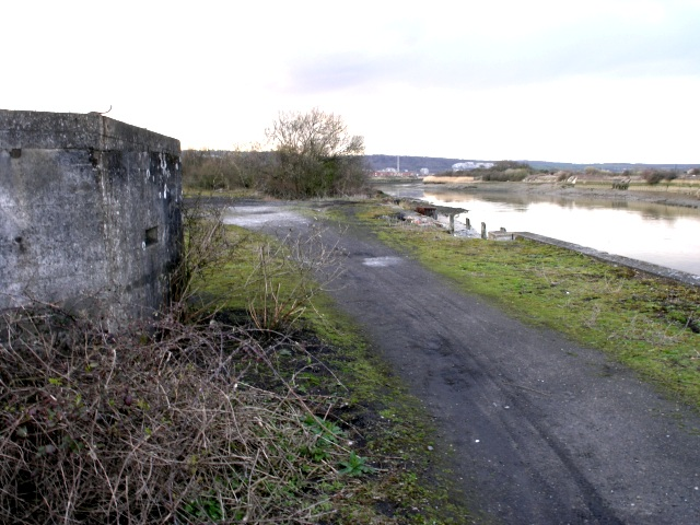 Coastal Pill Box on the River Medway