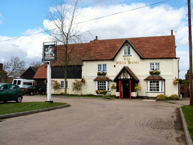The White Horse, Burnham Green