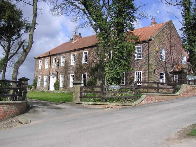 Barmpton Hall.