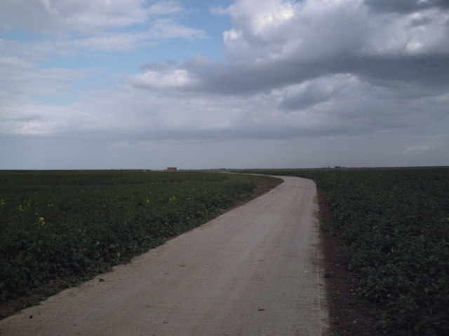 Road east from Grapnells