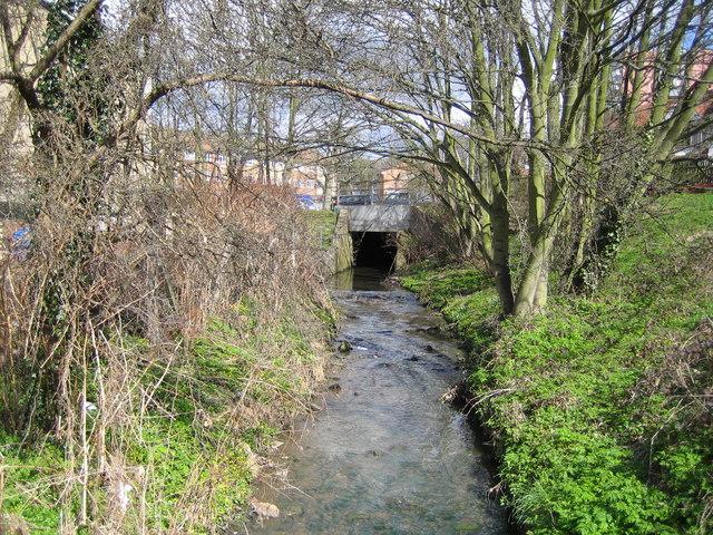Pymme's Brook in East Barnet