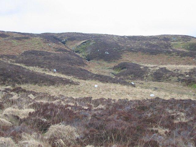 Moorland, west of Beinn Ghlas.