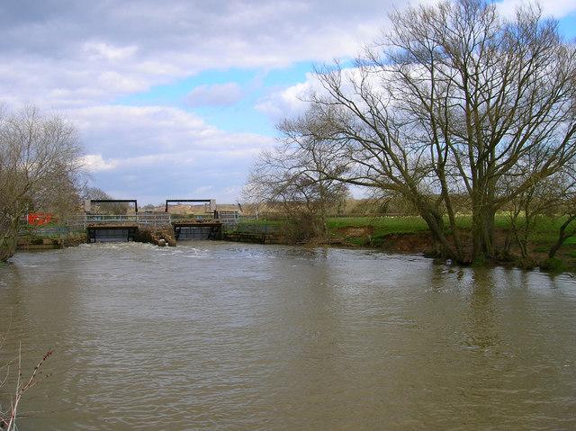 Sluice, River Ouse