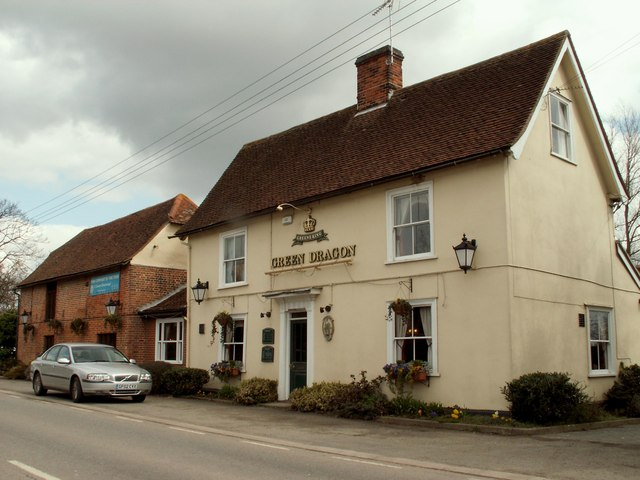 'Green Dragon' public house, Young's End, Essex