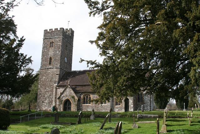 Huntsham: All Saints church