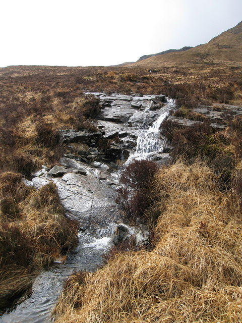 Burn on the Kinloch to Dibidil path
