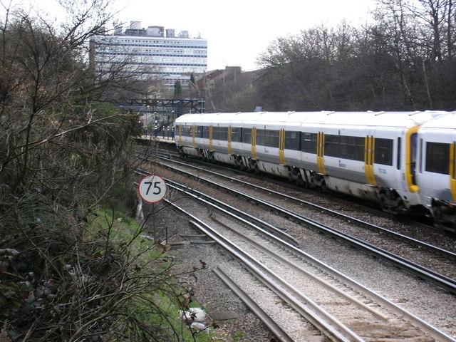 Swanley railway station