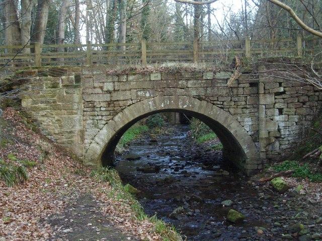 Bridge over Stanley Burn.
