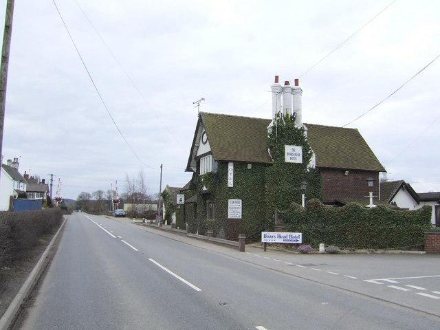Boars Head Hotel, near Sudbury