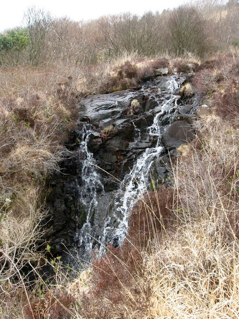 Waterfall on Primrose Burn
