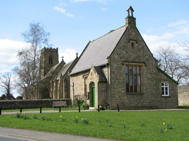 The Old School Room & St. Patrick's church
