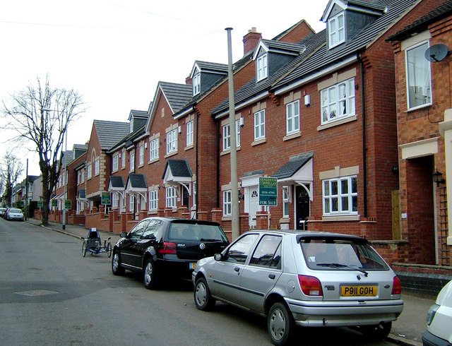 Housing on site of former shoe factory, St Peter's Ave Kettering.