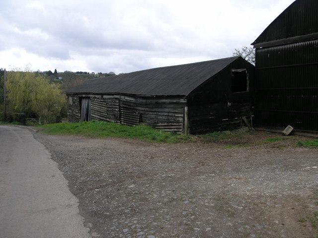 Black Wooden Barn