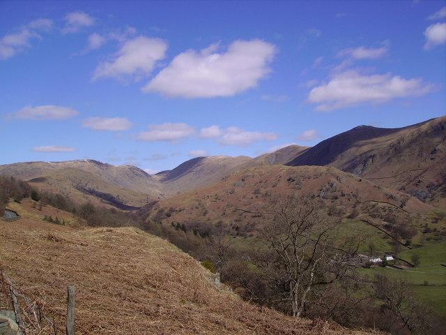 Ascending Kirkstone Pass